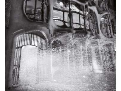 Casa Batlló nevada.
