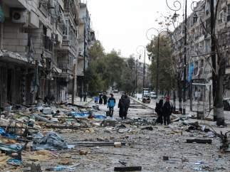 Al menos 7.631 muertos por bombardeos de la coalición contra el EI en Siria