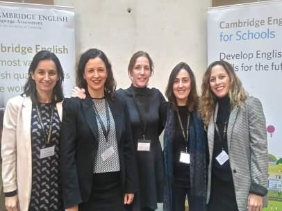 Organizadoras de la jornada del Instituto Británico de Sevilla