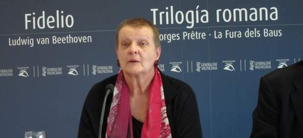 La exintendente Del Palau De Les Arts, Helga Schmidt