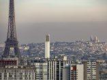 Nube de polución sobre París