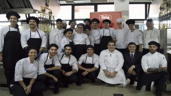 Más de 730 menús elaborados por el chef Erlantz Gorostiza se ...