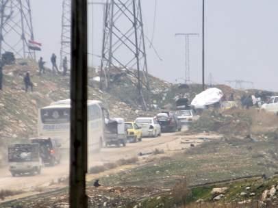 Suspendida la evacuación de la ciudad siria de Alepo