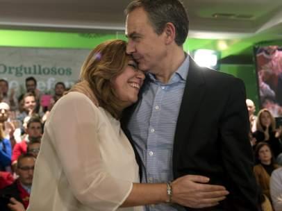 Zapatero y Susana Díaz