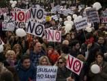 Protesta en Jaén