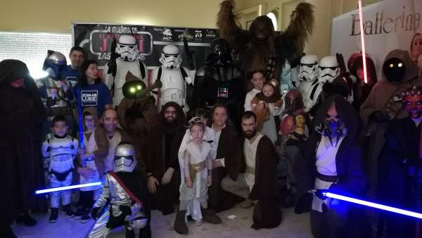 'Star Wars' solidario