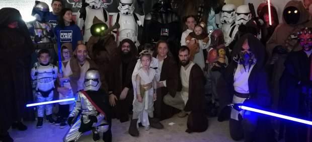 'Star Wars' solidario