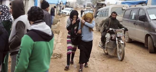 Evacuación de Alepo