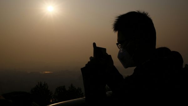 Contaminación China Pekín