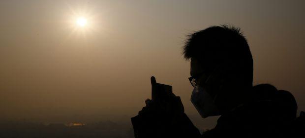 Contaminación China Pekín