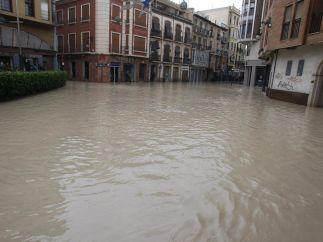 Orihuela, inundada