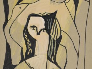 Francisco Bores - El Cuervo, hacia 1960-1965, 1
