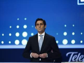 José María Álvarez-Pallete, presidente de Telefónica, en junta de accionistas