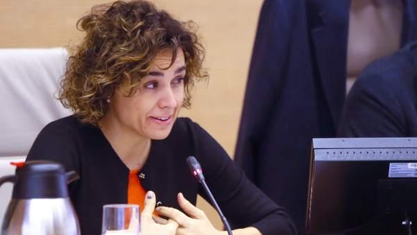 Ministra de Sanidad, Dolors Montserrat