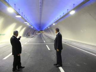 Eursasia, túnel que conecta Europa con Asia, en Turquía