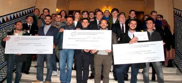 Finalistas en el concurso andaluz de emprendimiento 'Ilumina tus ideas'