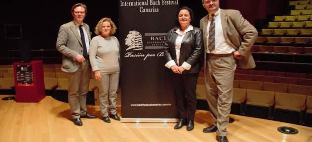 El Festival dedicado a Bach se presentó hoy en el  Auditorio Alfredo Kraus