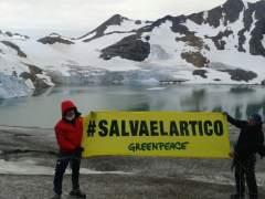 Greenpeace en el Ártico
