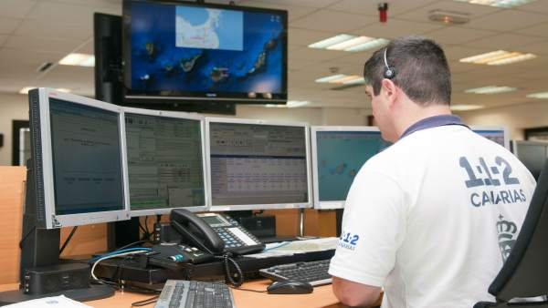 Sala operativa 1-1-2 Canarias