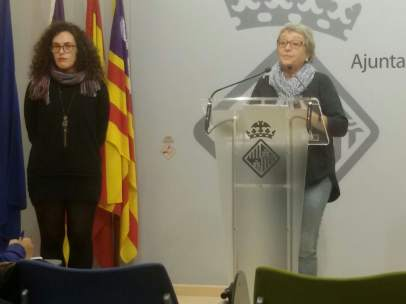 Eva Frade y Mercè Borràs