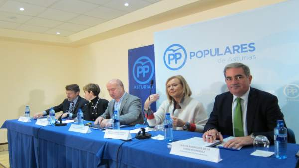 La presidenta del PP de ASturias preside el Comité Ejecutivo Regional del PP