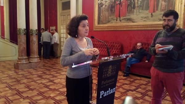 La consellera de Servicios Sociales, Fina Santiago