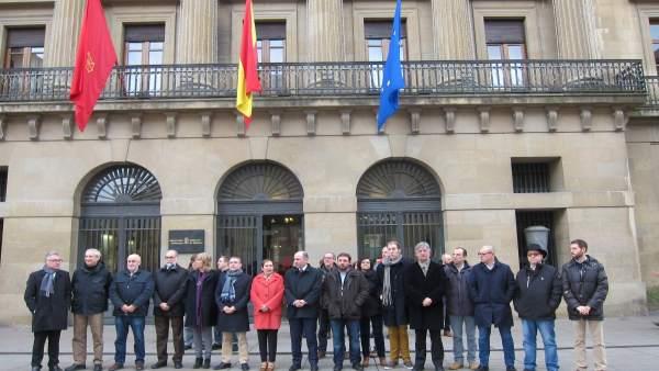Concentración contra los atentados en Berlín y Ankara