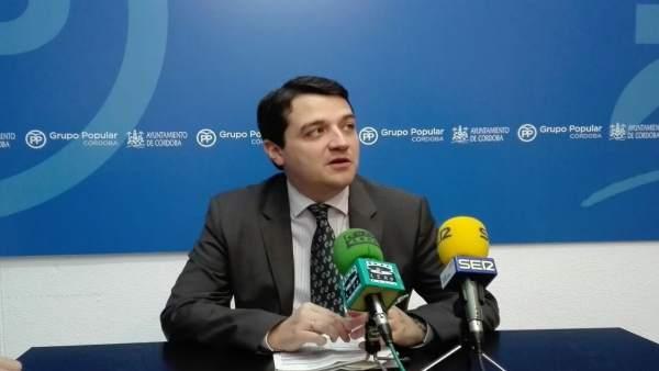 El portavoz municipal del PP, José María Bellido