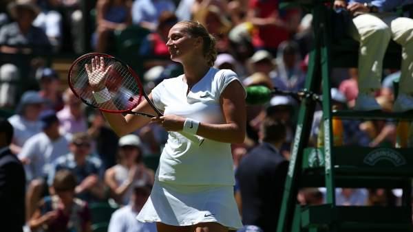Petra Kvitová, Wimbledon 2015