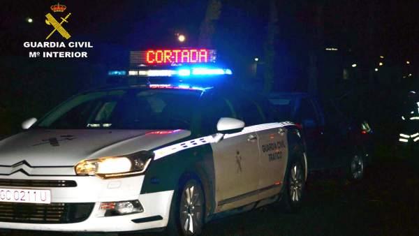 La Guardia Civil detiene al conductor de un turismo