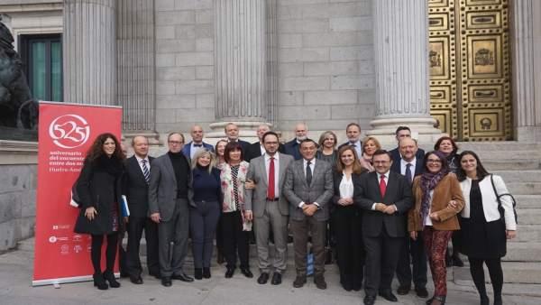 El PSOE, en el apoyo del 525 Aniversario del Encuentro entre dos Mundos