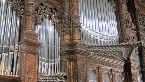 Órgano de la Basílica del Pilar de Zaragoza