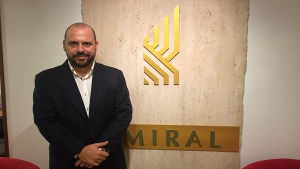 El empresario cordobés, dirigente de la Ceaje y la CEOE, Manuel García
