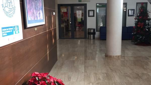El Hospital de Pozoblanco ya tiene decoración navideña