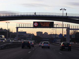 Limitación de velocidad en Madrid