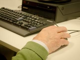 Un internauta al ordenador