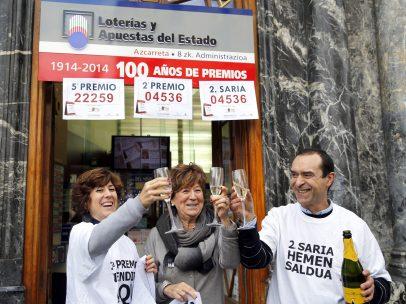 Premios a pares en Bilbao