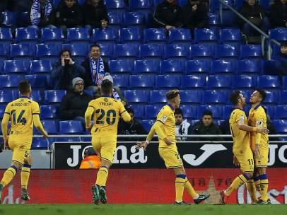 Gol del Alcorcón al Espanyol