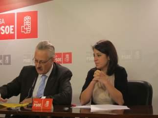 Antonio Trevín y Adriana Lastra