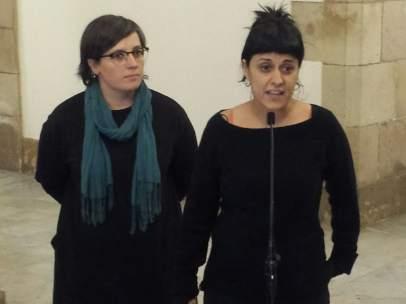 Mireia Boya, Anna Gabriel, CUP