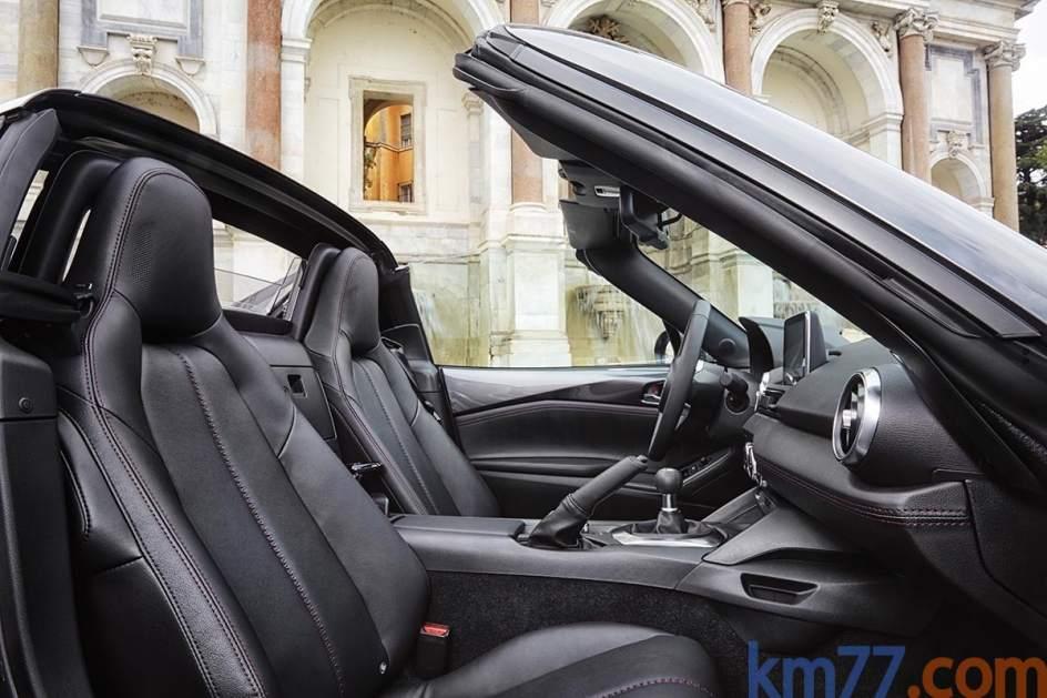 Aspecto interior del Mazda MX-5 RF