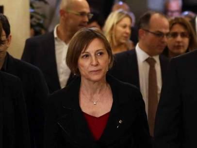 Carme Forcadell, presidenta del Parlament.