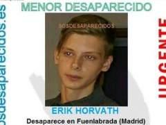 Menor desaparecido en Fuenlabrada