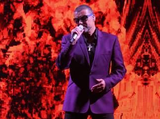 George Michael en concierto