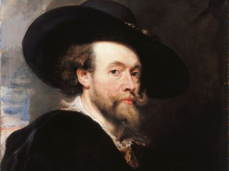 Sir Peter Paul Rubens, A Self-Portrait, 1623