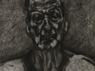 Lucian Freud, Self-Portrait: Reflection, 1996