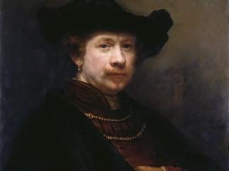 Rembrandt van Rijn, Self-Portrait in a Flat Cap, 1642