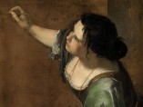 Artemisia Gentileschi, Self-portrait as the Allegory of Painting (La Pittura), c.1638-1639