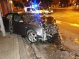 Accidente de tráfico en Pamplona.