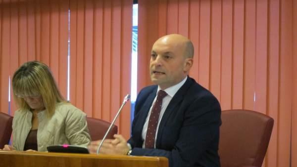 Pleno de presupuestos en el Ayuntamiento de Vigo.